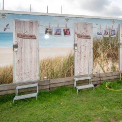 Tinywagon accomodatie huren aan Almere Strand - faciliteiten en sanitair